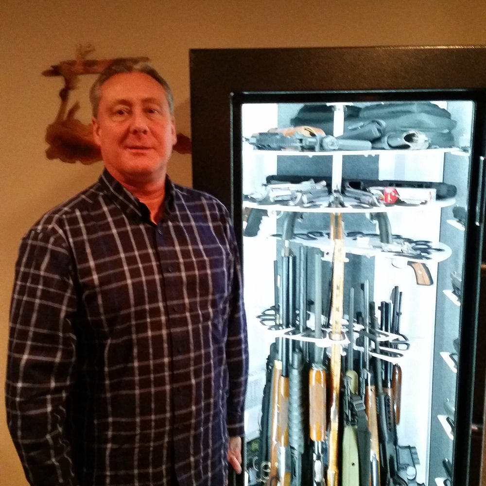 I emptied two safes into my new Revolution Safe.  I recommend Revolution Brand of Safes to everyone. -- Mark