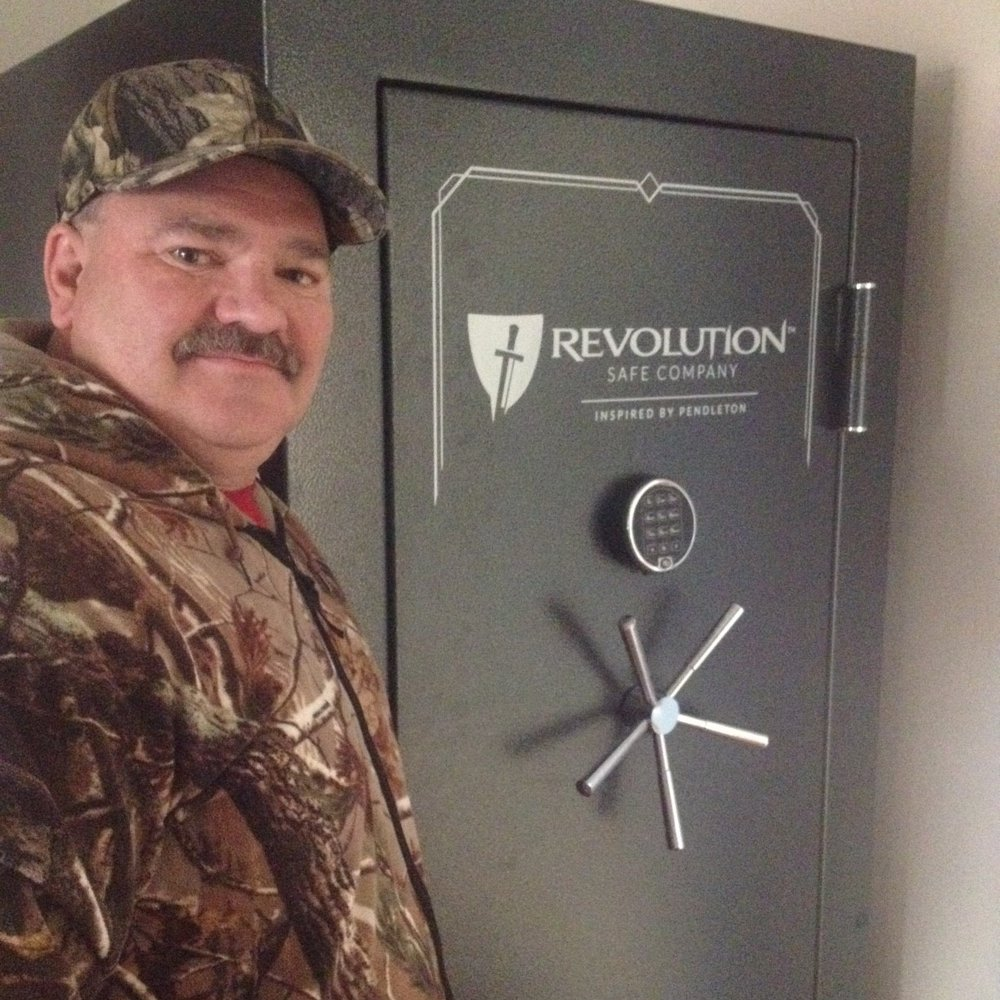 My Revolution Safe was well worth the time and money spent... Hands down 100% American customer service, product quality and down right owner bragging rights all in one package! - Bruce H.