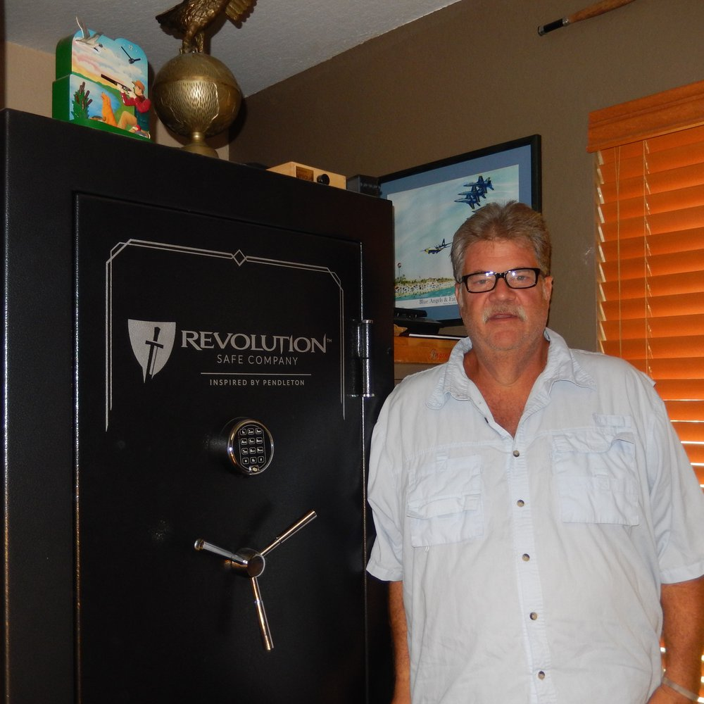Quality safe that exceeds our needs and looks great -- Bob T.