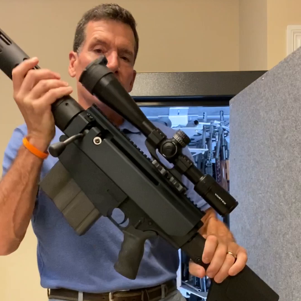 Can It Really Hold My Rifles? With Scopes, Magazines & Bipods Ready to Go?! It all fits! 50 BMG, Hunting Rifles, Shotguns, ARs, Large Scopes, Pistols and More!
